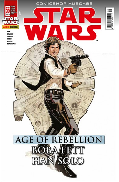 Star Wars 56: Age of Rebellion - Han Solo & Boba Fett -  Comicshop-Ausgabe