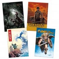 Alben-Comics: Historien-Bundle