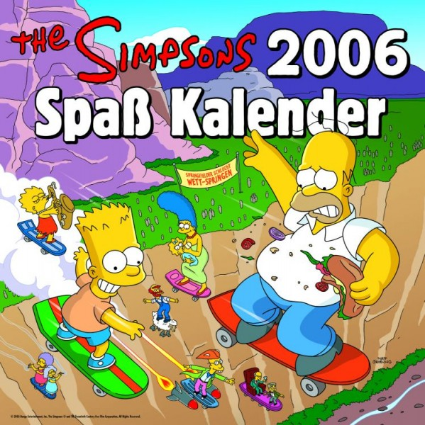 Simpsons - Spass-Kalender (2006)