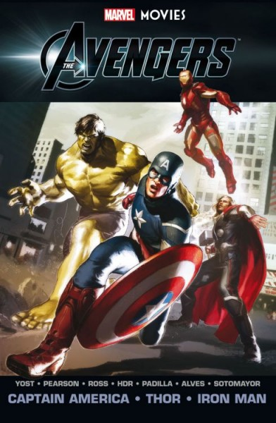 Marvel Movies 3: Avengers - Captain America, Thor, Iron-Man