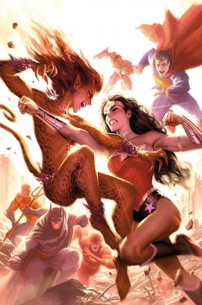 Wonder Woman gegen Cheetah!