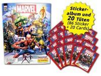 80 Jahre Marvel Sammelkollektion - Sticker und Cards -  Sammelbundle