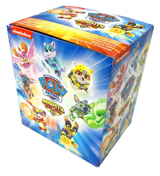 Paw Patrol - Mighty Pups Sticker - Box mit 36 Tüten