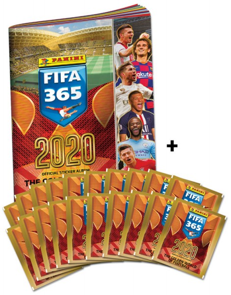 Panini FIFA 365 2020 Stickerkollektion – Sammelbundle