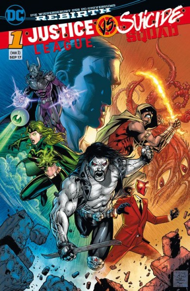 Justice League vs. Suicide Squad 1 Variant B