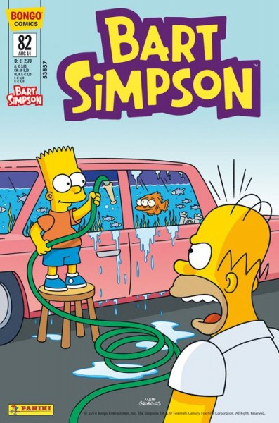 Bart Simpson Comics 82