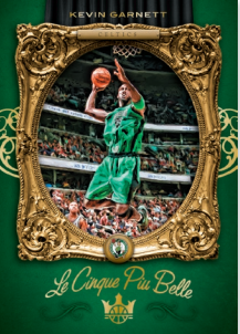 NBA Court Kings 2019/20 Trading Cards - Le Cinque Piu Belle - Kevin Garnett