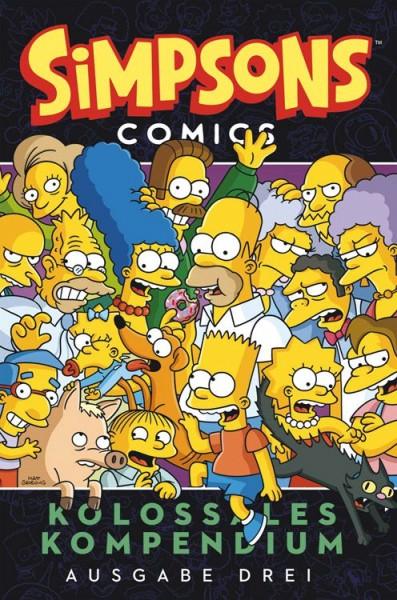 Simpsons Comics: Kolossales Kompendium 3