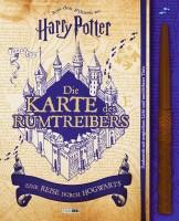 Harry Potter: Die Karte des Rumtreibers - eine Reise durch Hogwarts Cover