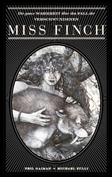 Neil Gaiman Bibliothek: Die ganze Wahrheit über den Fall der verschwundenen Miss Finch
