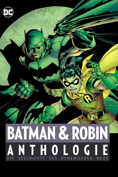 Batman und Robin Anthologie Cover