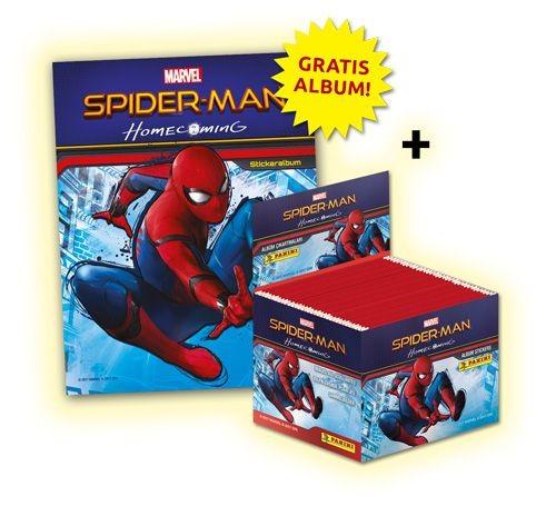 Spider-Man Homecoming Stickerkollektion - Bundle 1