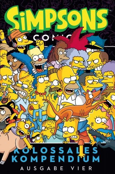 Simpsons Comics: Kolossales Kompendium 4