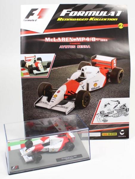 Formula 1 Rennwagen-Kollektion 23: Ayrton Senna (McLaren MP4/8)