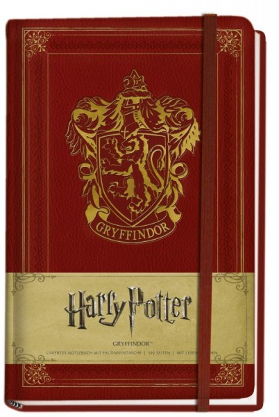 Harry Potter - Notizbuch - Gryffindor