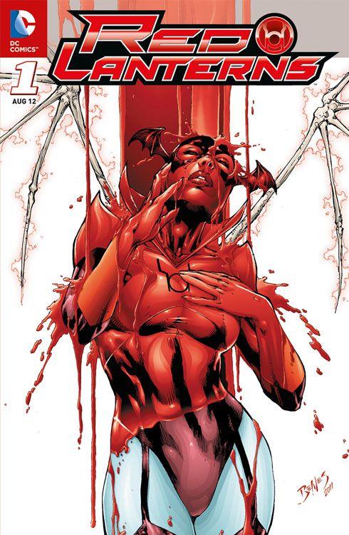 Red Lanterns 1: Blut und Zorn Variant