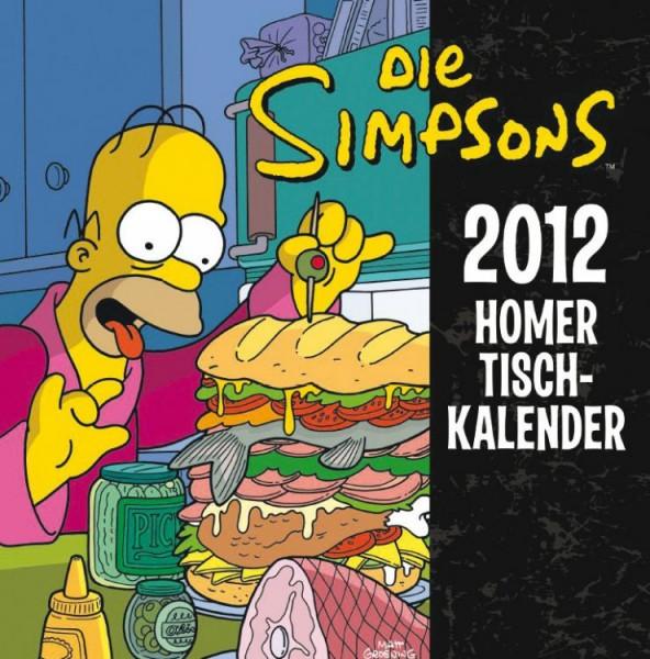 Simpsons - Tischkalender (2012)