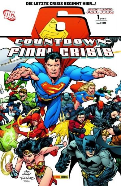 Countdown zur Final Crisis 1