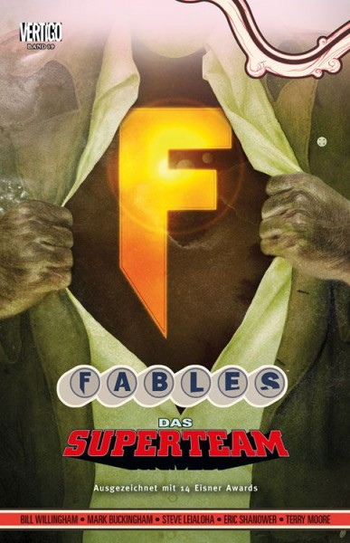 Fables 19: Super-Team