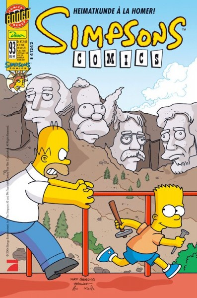 Simpsons Comics 93