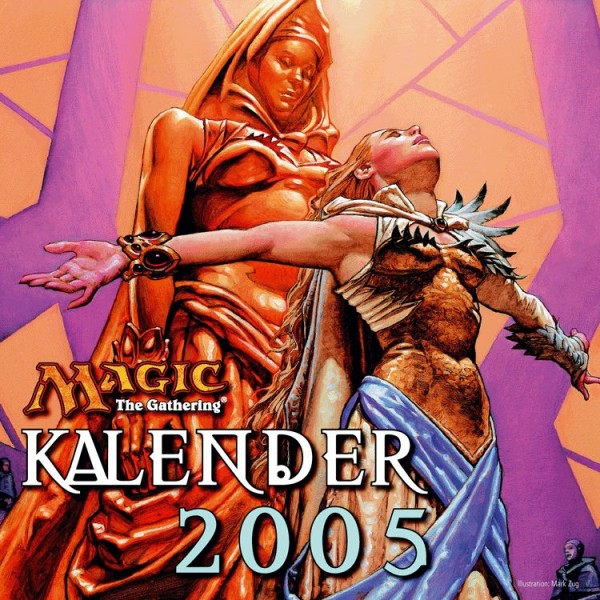 Magic: The Gathering - Wandkalender (2005)