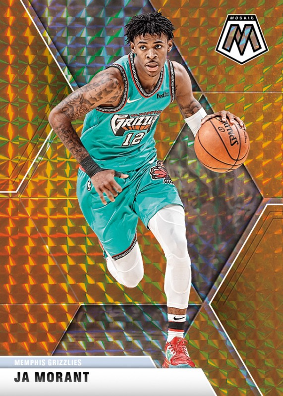 NBA Basketball Mosaic Trading Cards 2019/20 - Ja Morant