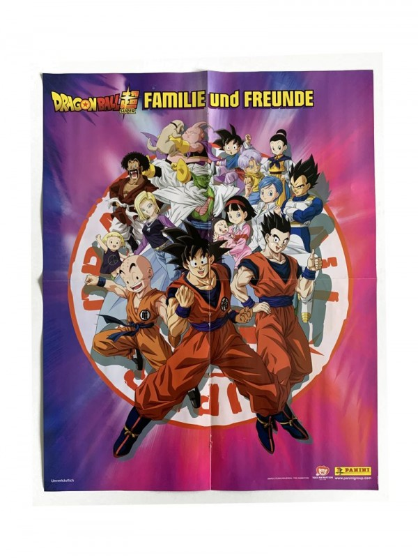 Dragon Ball Super Sticker Highlight Mega-Poster Seite 2