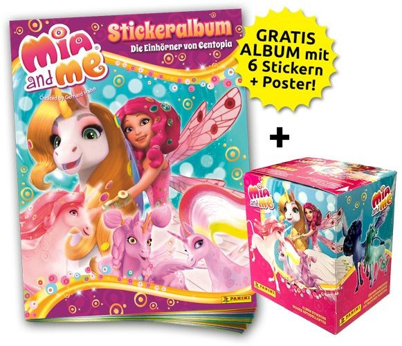 Mia and Me 5 Stickerkollektion - Sticker-Starter-Bundle