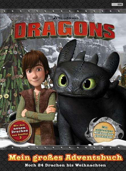 Dragons - Mein großes Adventsbuch - Noch 24 Drachen bis Weihnachten