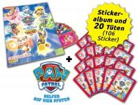 Paw Patrol - Mighty Pups Sticker - Sammelbundle