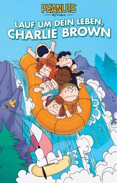 Peanuts 14: Lauf um dein Leben, Charlie Brown Cover