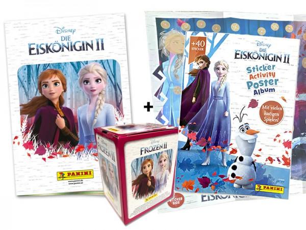 Die Eiskönigin 2 - Sticker und Trading Cards - XXL Bundle