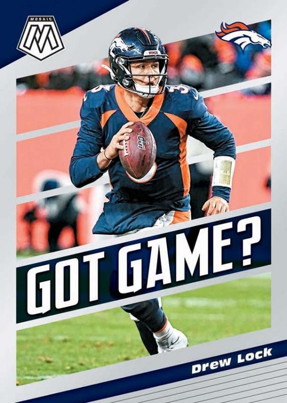 NFL Mosaic 2020 Trading Cards - Drew Lock