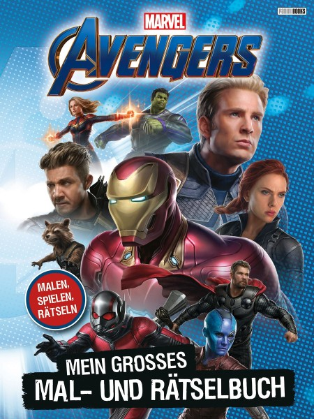 Marvel Avengers - Mein großes Mal- und Rätselbuch