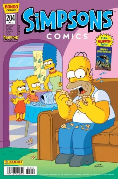 Simpsons Comics 204