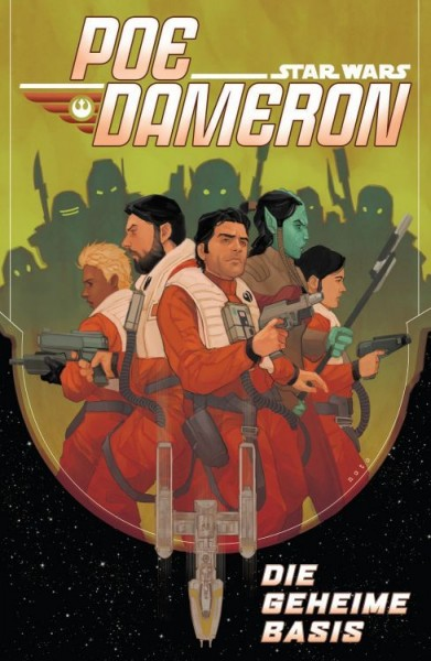 Star Wars Sonderband 102: Poe Dameron - Die geheime Basis Variant - Comic Salon Erlangen