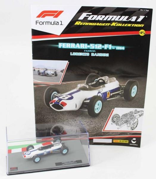 Formula 1 Rennwagen-Kollektion 45: Lorenzo Bandini (Ferrari 512 F1)