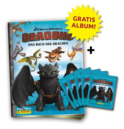 Dragons - Das Buch der Drachen Stickerkollektion - Bundle 3