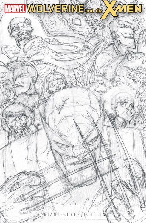 Wolverine und die X-Men 4 Sonderband...