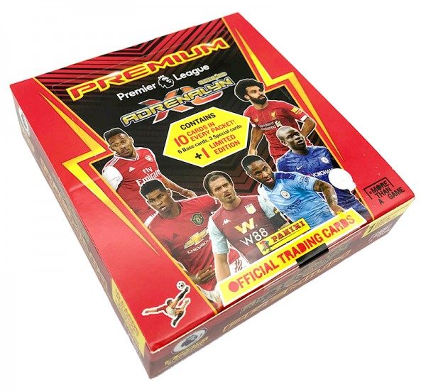 Panini Premier League Adrenalyn XL 2019/20 Kollektion – Premium Box
