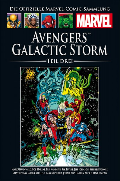 Hachette Marvel Collection 186: Avengers - Galactic Storm, Teil 3 Cover