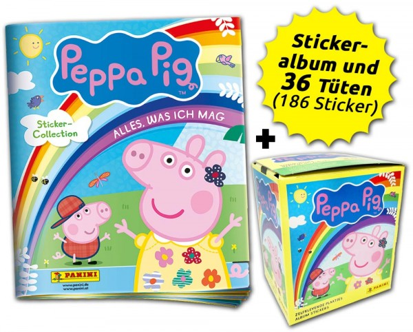 "Peppa Pig ""Alles, was ich mag"" Box-Bundle Inhalt"