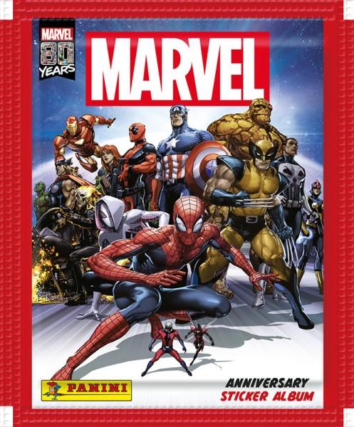80 Jahre Marvel Sammelkollektion - Sticker und Cards - Tüte