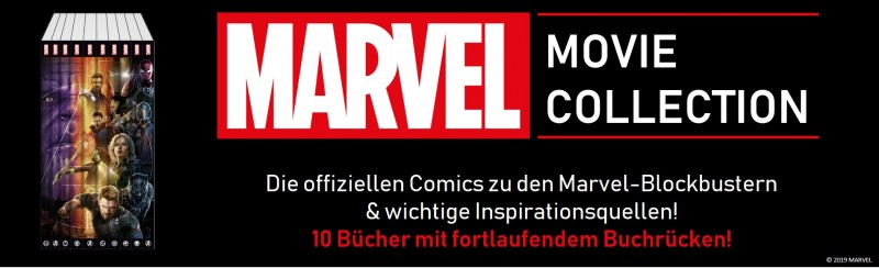 Marvel Movie Collection – Die offiziellen Comics zu den Marvel Blockbustern