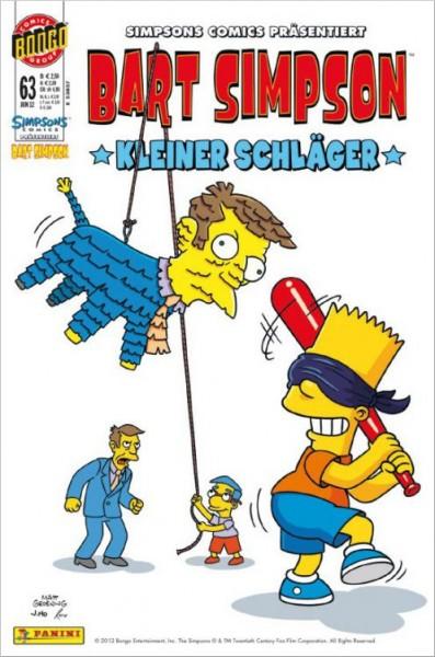 Bart Simpson Comics 63 Cover