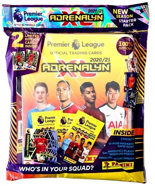Panini Premier League Adrenalyn XL 2020/21 Kollektion – Starterset