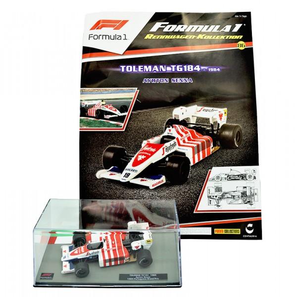 Formula 1 Rennwagen-Kollektion 86: Ayrton Senna (Toleman TG184)