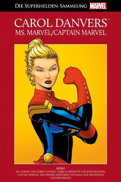 Die Marvel Superhelden Sammlung 18: Carol Danvers - Ms. Marvel/Captain Marvel