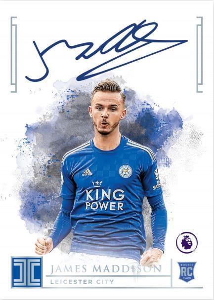 Panini Impeccable Soccer Premier League 2019/20 Trading Cards - James Madisson