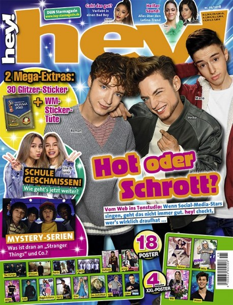 hey! Magazin 05/18